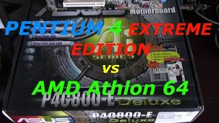 Athlon 64 vs Pentium 4 Extreme Edition (Gallatin Core)