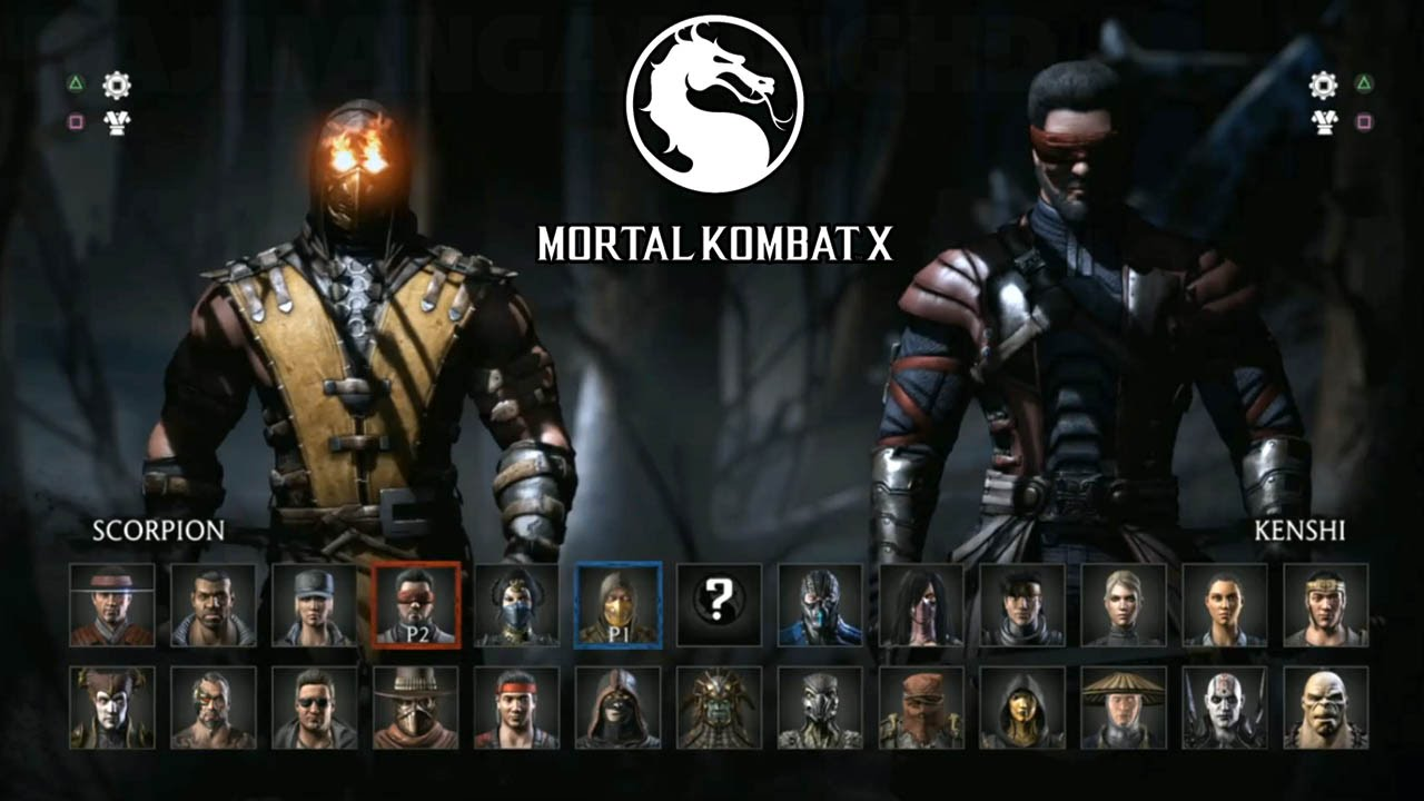 Mortal Kombat X All Characters Revealed 60fps 1080p True Hd
