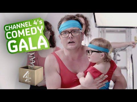 Alan Carr Hijacks The Ads: Comedy Gala 2014