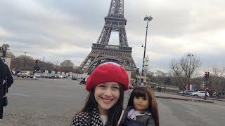 Torre Eiffel, Champs Élysées - Vlog: Um dia em Paris 1  - Julia Silva
