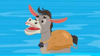 आलसी गधा | Lazy Donkey Hindi Kahaniya for Kids | Hindi Fairy Tales By Baby Hazel