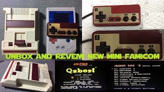 New Famicom mini unbox and review how does it compare to nintendo classic
