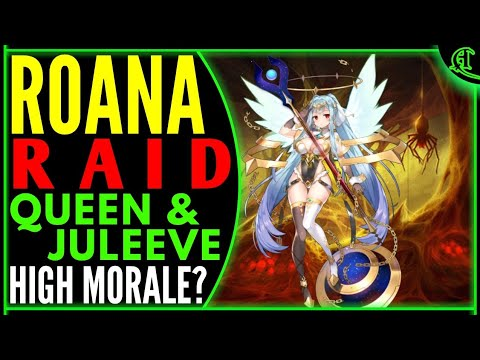 15 Roana Raid Labyrinth High Morale Epic Seven Pve Epic 7 Lab Gameplay E7 Raiding Queen Juleeve Youtube