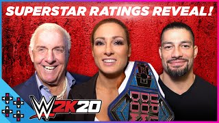Roman Reigns, Ric Flair, Becky Lynch and more react to WWE 2K20 Ratings!