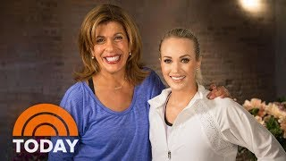 Carrie Underwood Opens Up About Her Accident, New Music, & Athletic Clothing Line | TODAY