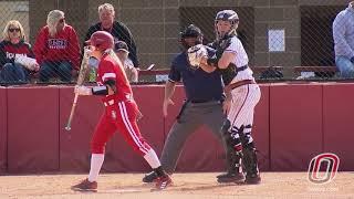 Softball vs. South Dakota, Game 1 - Highlights