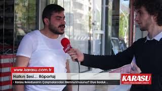 Karasu Belediyesinin Çalışmalarını Sorduk. Video