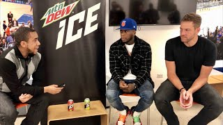 Interview: Nate Robinson & David Lee