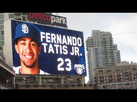 2017 San Diego Padres Prospect Game (Fernando Tatis Jr)