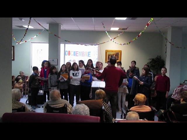 Curs 2017-18 - Cor Escolar - Nadala dels mariners - Residència St.Llorenç