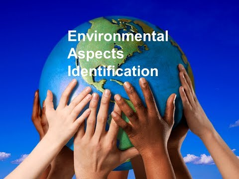 ISO 14001 - Environmental Aspect Impact Identification