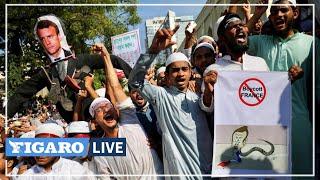 🔴«We hate France»: manifestation anti-Macron au Bangladesh après la prière du vendredi