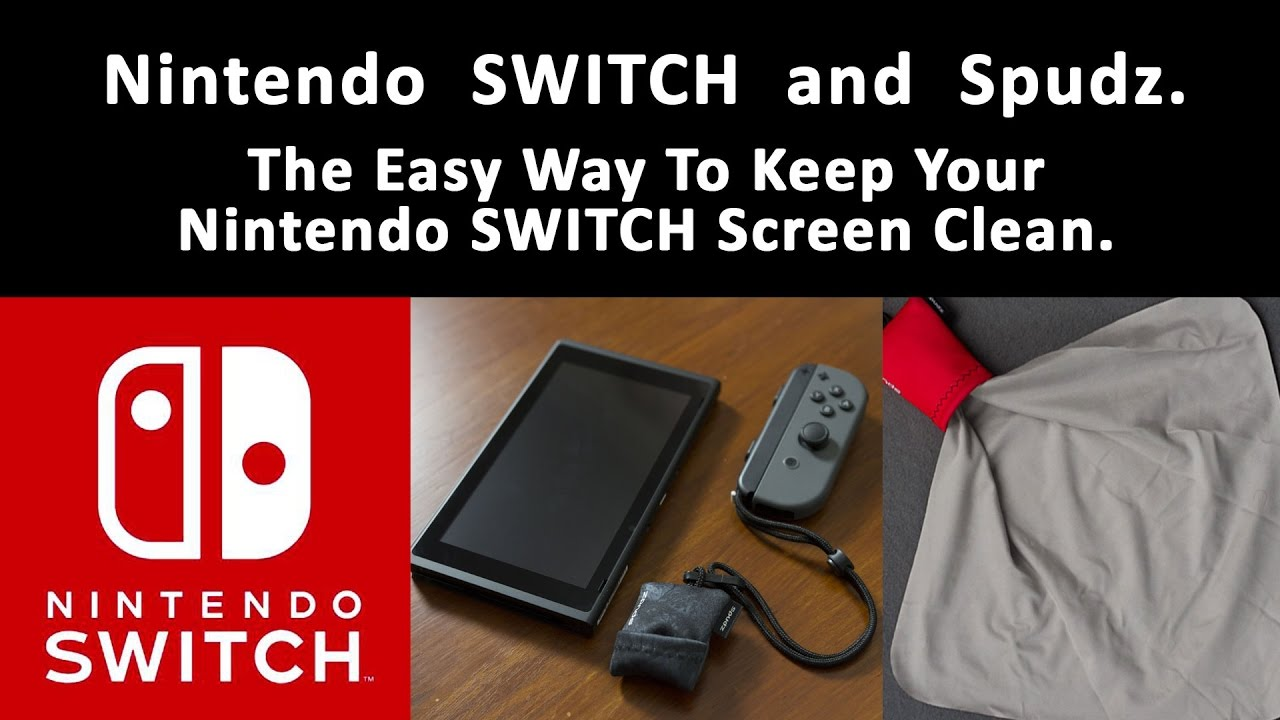Australian Nintendo Switch - Clean Your Screen With Spudz ...