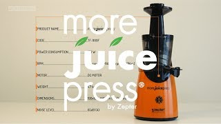 More Juice Press by Zepter - product review