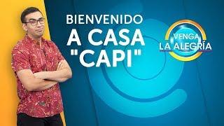 ¡APARECIÓ el nuevo conductor! ¡'El Capi' está de regreso! | Venga La Alegría