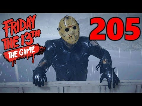 [205] Jason Rocks The Boat!!! (Let's Play Friday The 13th The Game)
