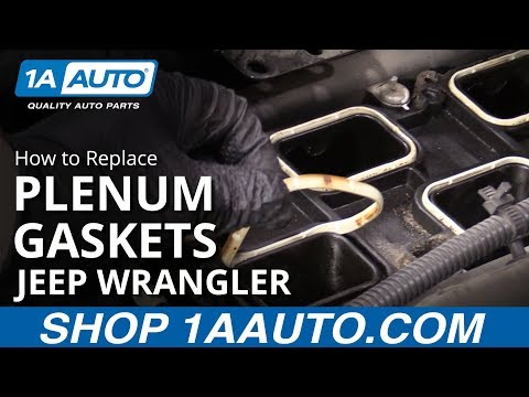 How to Replace Intake Plenum Gaskets 06-18 Jeep Wrangler