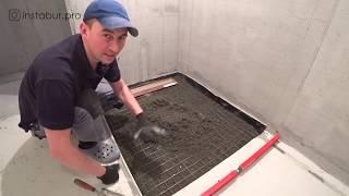 як зробити слив з душової кабіни в каналізацію