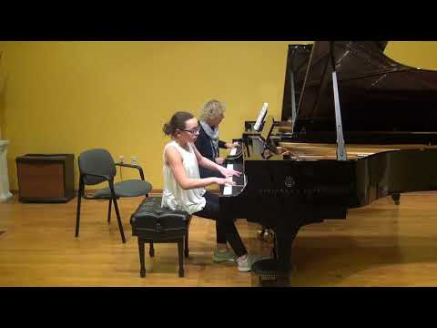 24.02.2018 Mira Marchenko's master-classes. Dasha Sandomirsky. Schmitt Music, Kansas City, USA.