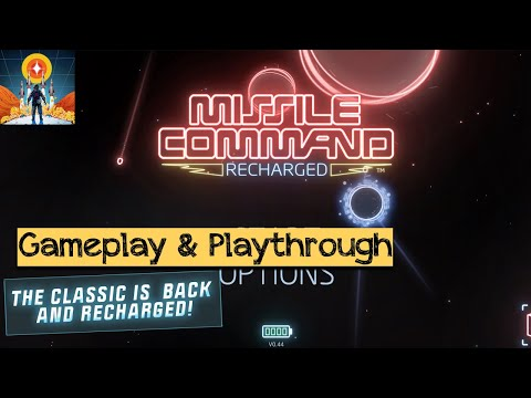 Missile Command: Recharged (by Atari) - Android / iOS Gameplay |