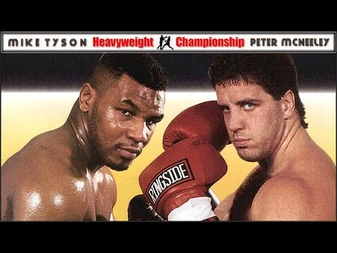 Mike Tyson vs. Peter McNeeley (part one) August 19, 1995.