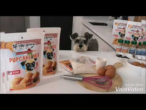 Pupcake mix for dogs