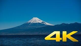 Majestic view of Mt. fuji from Osezaki Cap - Shizuoka - 大瀬崎 - 4K Ultra HD