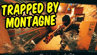 Trapped by Montagne - Rainbow Six Siege Funny Moments & Epic Stuff
