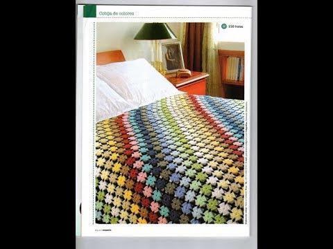Crochet Bedspread Free Simplicity Patterns46 Youtube