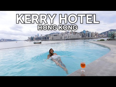 Kerry Hotel Hong Kong - Best Infinity Pool, Boozy Brunch Buffet & More!