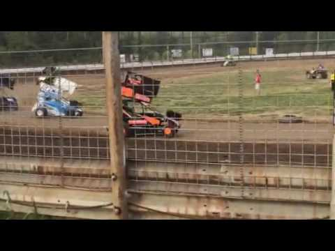 Jackson Slone at US 24 Speedway June 18 2016