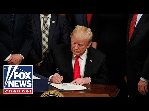 Trump gives fiery press conference after signing Executive Order