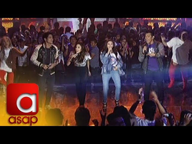 "ASAP: Sarah G. and Gary V. sing ""Let's Get It Started"""