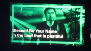 For those who missed attend Worship Nights In America Chris Tomlin 08/15/15