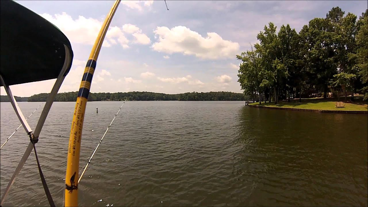 Catfishing lake murray sc june 26 2013 youtube for Lake murray fishing report