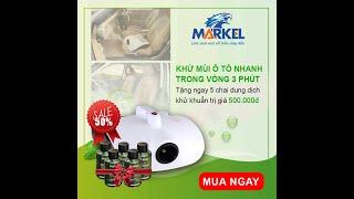 Hướng dẫn sử dụng Máy khử mùi Markel - Mua máy khử mùi ở đâu?