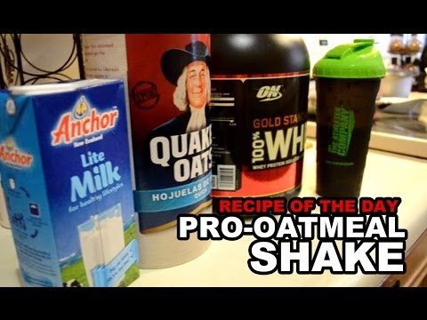 Featured Recipe Oatmeal Protein Shake