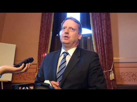 House Democratic Leader Tim Greimel on stepping aside
