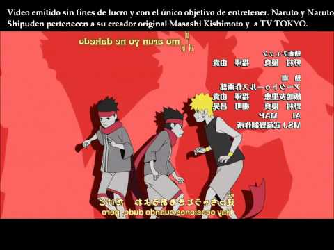 Naruto Shippuden Ending 15 'U can do it' Domino