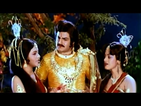 Brahmarshi Viswamitra Movie || Ee Chinnadi Video Song || NTR, Balakrishna