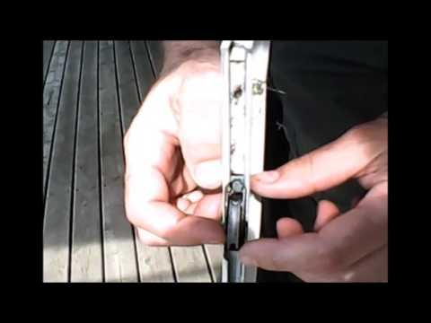 DIY - Patio Screen Door Adjustment & Lube