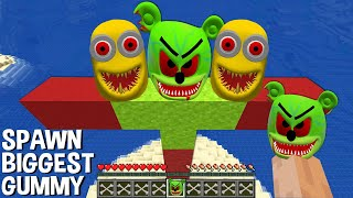 This is a SUPER TRICK METHOD TO GENERATE BIGGEST GUMMY BEAR and MINIONS in Minecraft TITAN  | NewsBurrow thumbnail