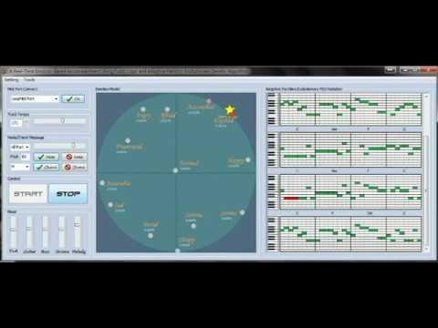 Development of an Automatic Emotional Music Accompaniment System