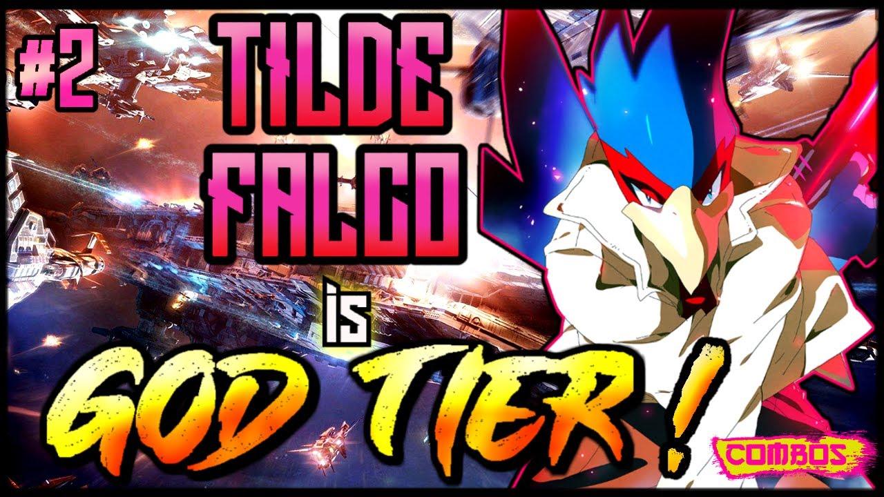 TILDE FALCO is GOD TIER! | BEST FALCO #1 Falco Combos & Highlights | Smash Ultimate #2