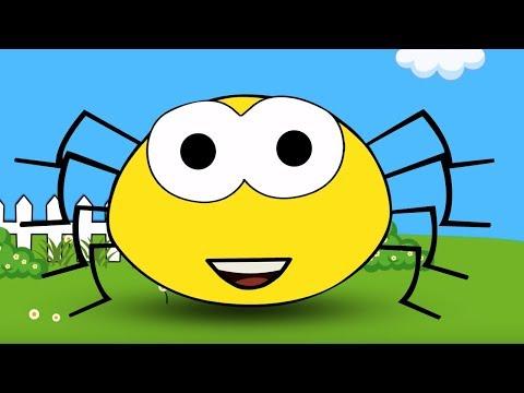 Incy Wincy Spider | Kindergarten Nursery Rhymes | Song For Children