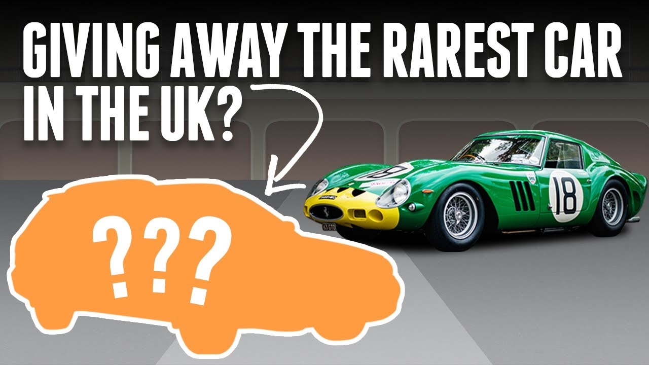 We're Giving Away A Mega Rare Car You Probably Never Knew Existed