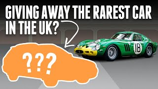 homepage tile video photo for We're Giving Away A Mega Rare Car You Probably Never Knew Existed