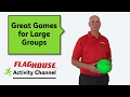 Great Gym Games for Large Groups (Ep. 18 - 7 inch Dino Skin Balls)