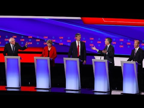2nd Democratic Debate, Pt 1: Battle Over Medicare for All and Fixing Immigration (2/3)