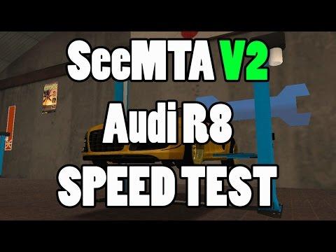 ARANY CSODA!! SeeMTA V2 // Audi R8 Speed Test